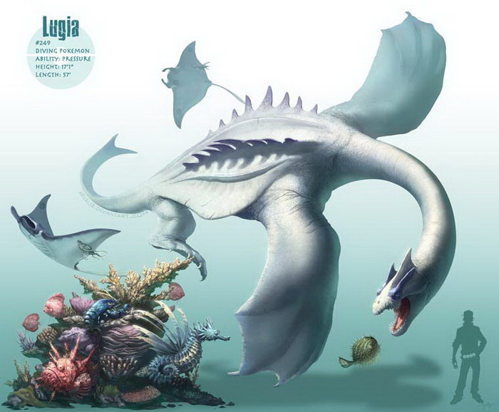 Реалистичные Покемоны: иллюстратор Arvalis