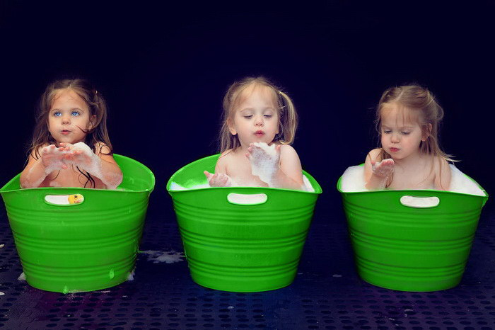 Тройняшки — это действительно классно!