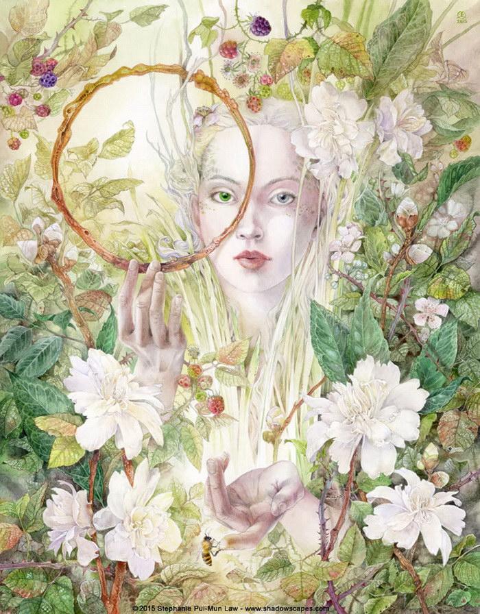 Романтичные картины Stephanie Law