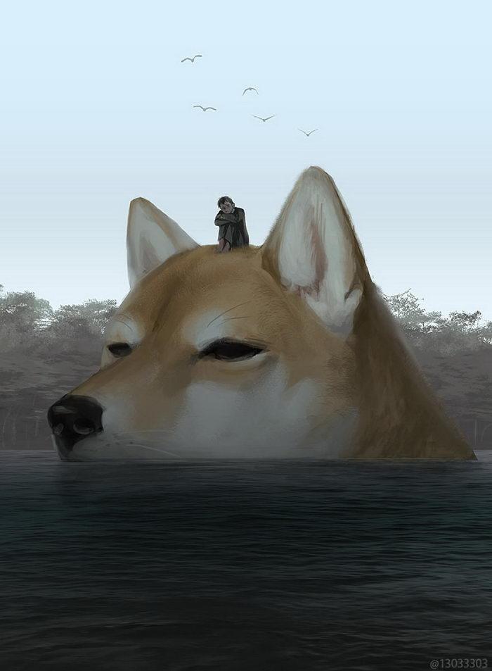 Любопытные иллюстрации Ariduka55
