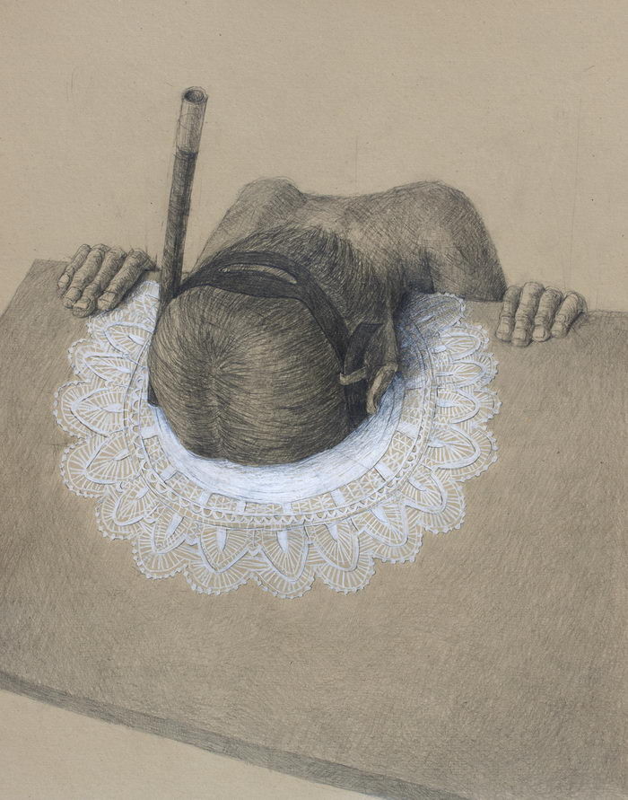 Одиночество в рисунках Stefan Zsaitsits