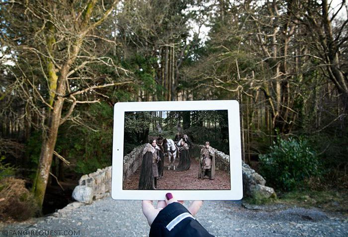 Три девушки путешествуют по местам съемок их любимых сериалов и фильмов