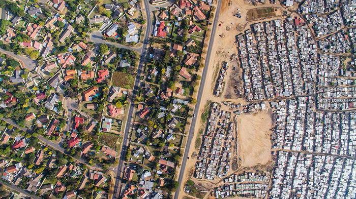 Граница между богатством и бедностью: проект Johnny Miller