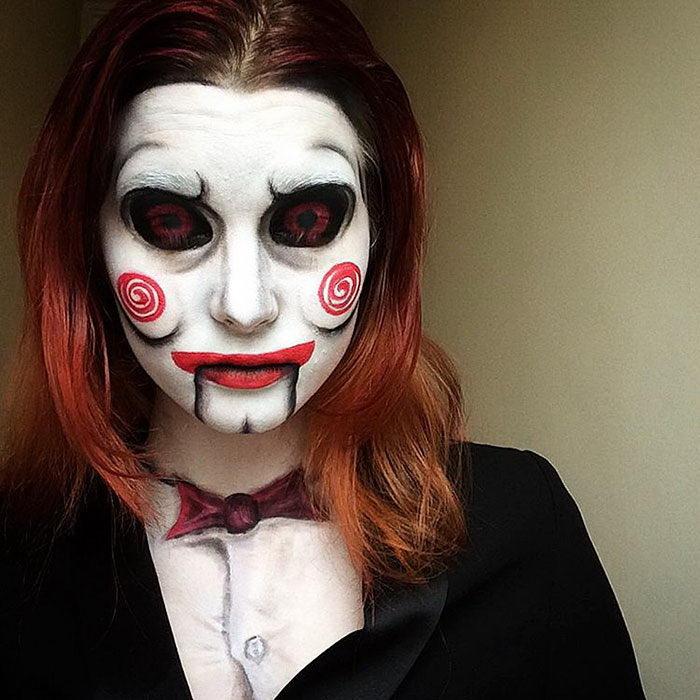 Невероятные макияжи Saida Mickeviciute