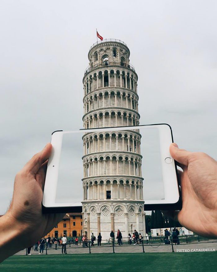 Интересные иллюзии Pietro Cataudella