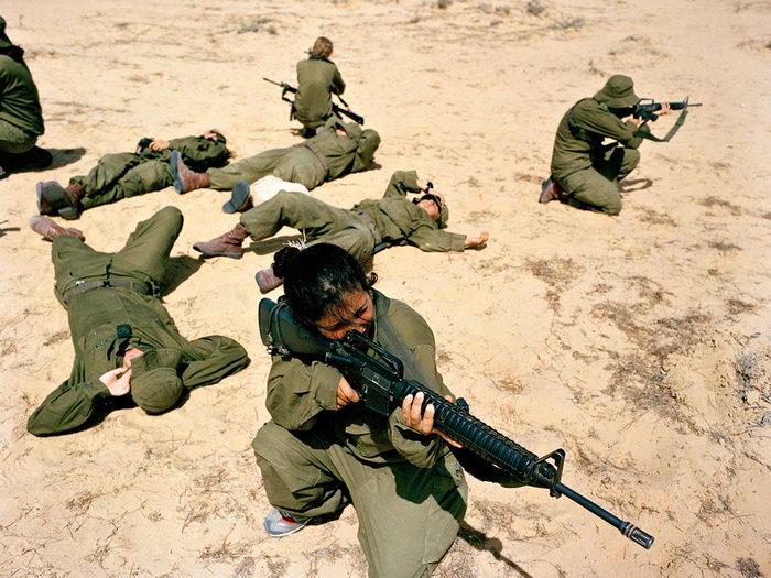 Девушки израильской армии в снимках Rachel Papo
