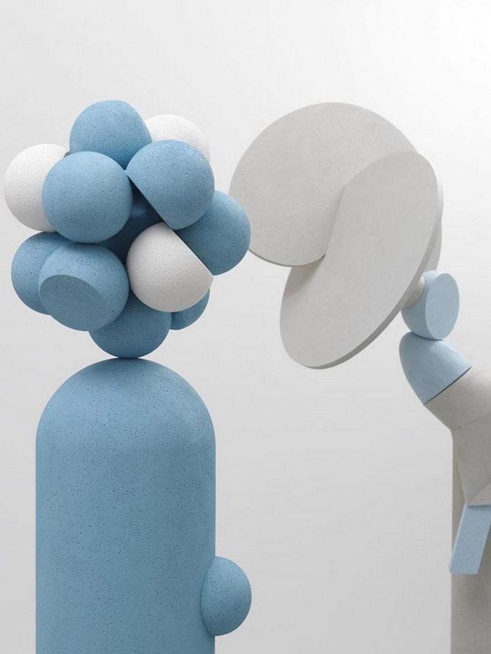 Брутальные и нежные скульптуры Elise