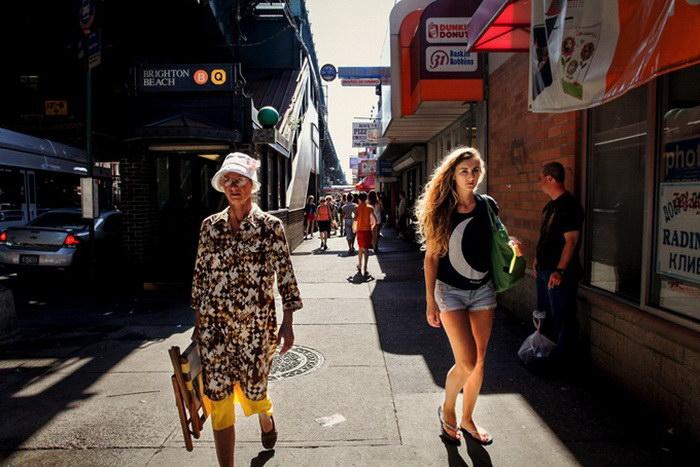 Брайтон-Бич в фотографиях Uliana Bazar