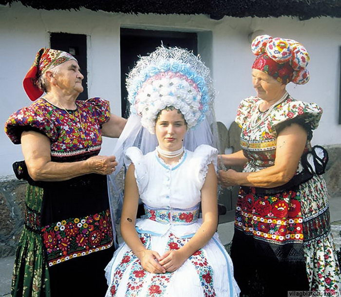 Свадебные наряды в разных странах мира