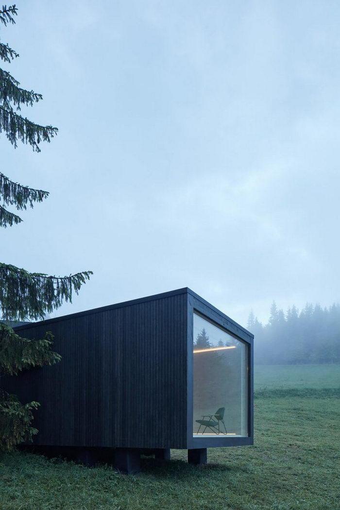 Домик в бельгийском лесу: работа Ark Shelter