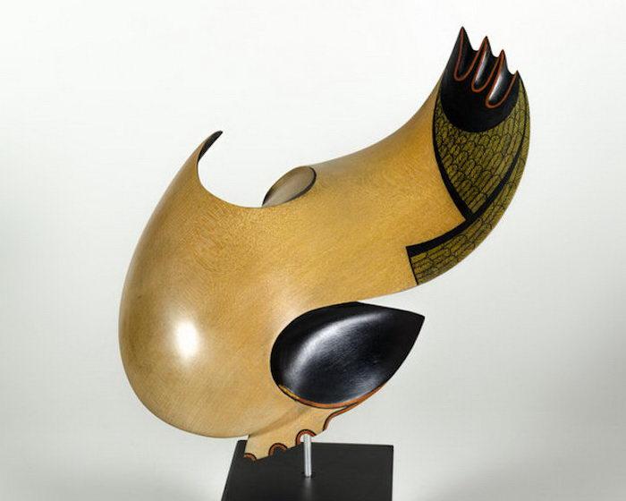 Деревянные скульптуры Rex Homan