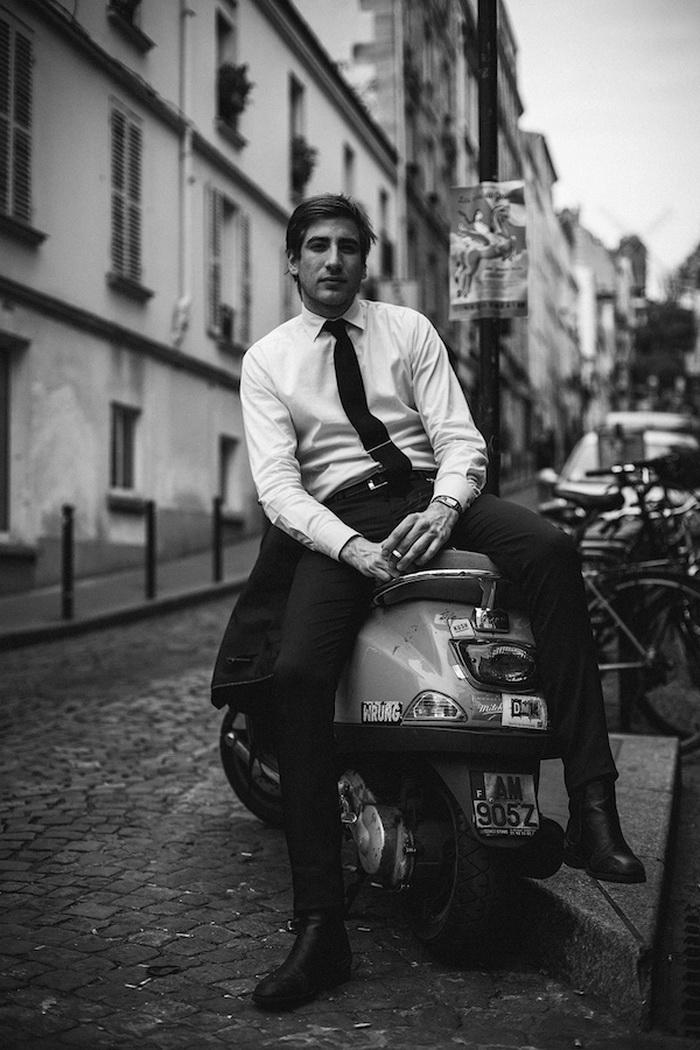 Парижане в фотографиях Constantin Mashinskiy