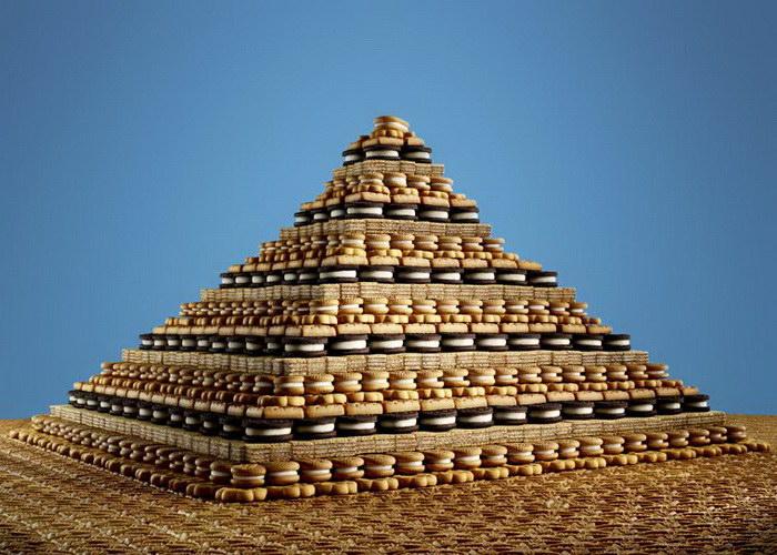 Десертные пирамиды Sam Kaplan
