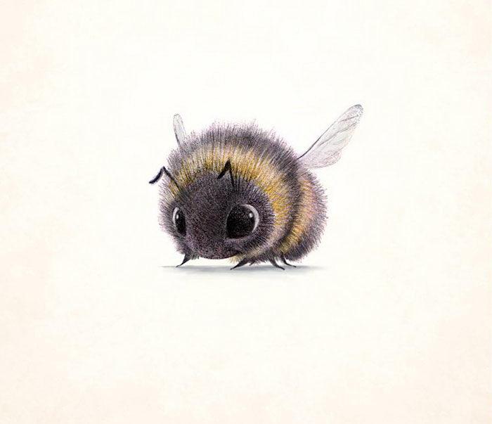 Милые рисунки животных Syndey Hanson