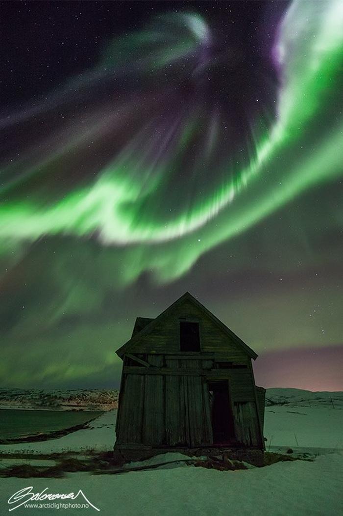 Северное сияние в фотографиях Ole Salomonsen