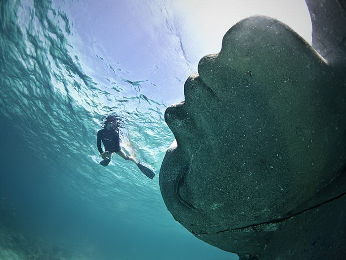 Скульптуры Jason DeCaires Taylor