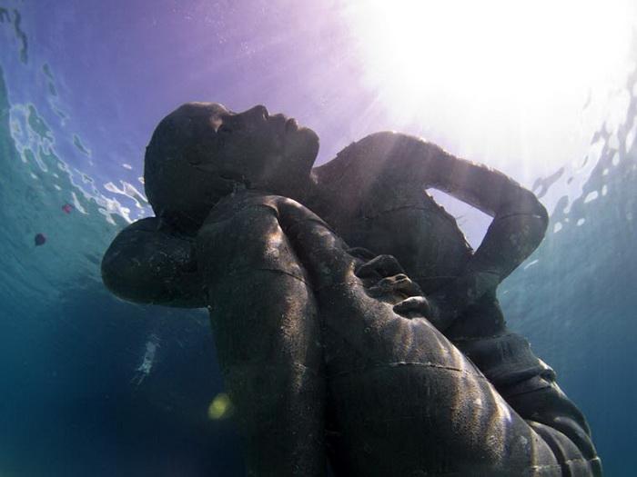 Скульптуры Jason DeCaires Taylor