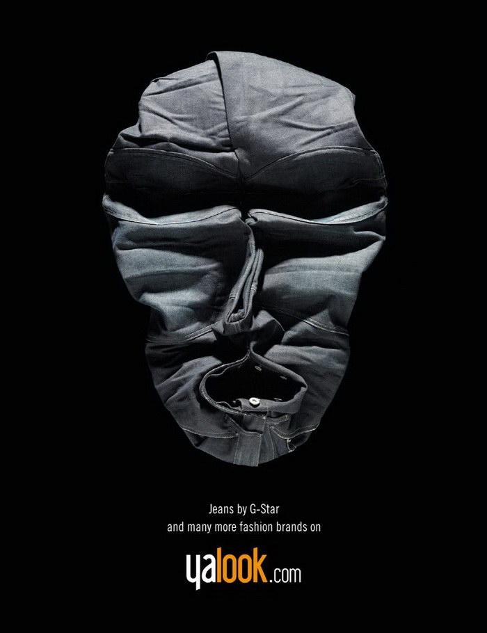 Одежда в виде лиц: проект Bela Borsodi
