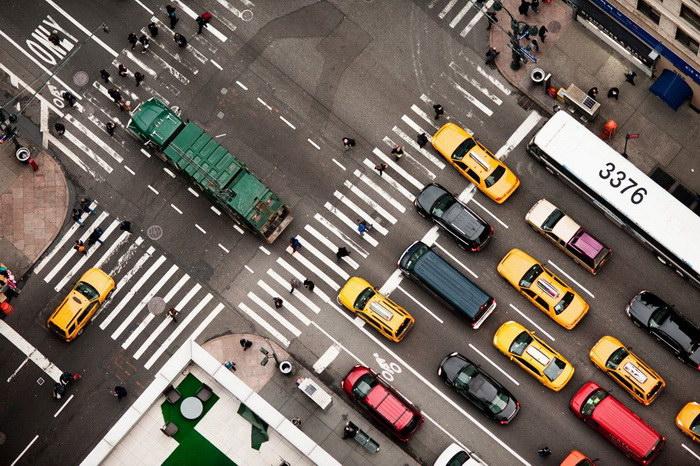 Нью-Йорк с высоты птичьего полета: фотографии Navid Baraty