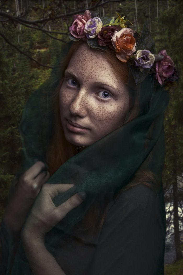 Календарь рыжеволосых: проект Karolina Ryvolová