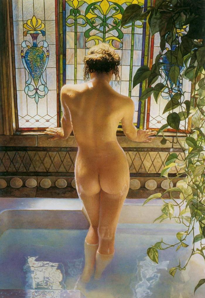 Чувственные картины женщин Steve Hanks
