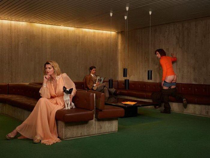 Развратный Эдем: фотопроект Sacha Goldberger