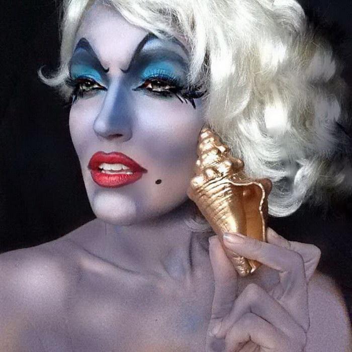Офигенные макияжи Rebecca Swift в стиле известных героев
