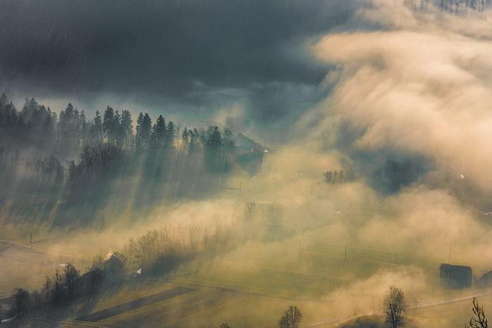 Рассветы Словении в снимках Filip Eremita