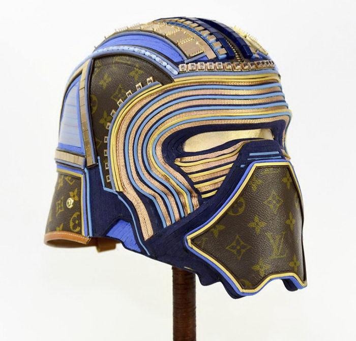 Персонажи Звездных Войн из старых сумок Louis Vuitton: работы Gabriel Dishaw