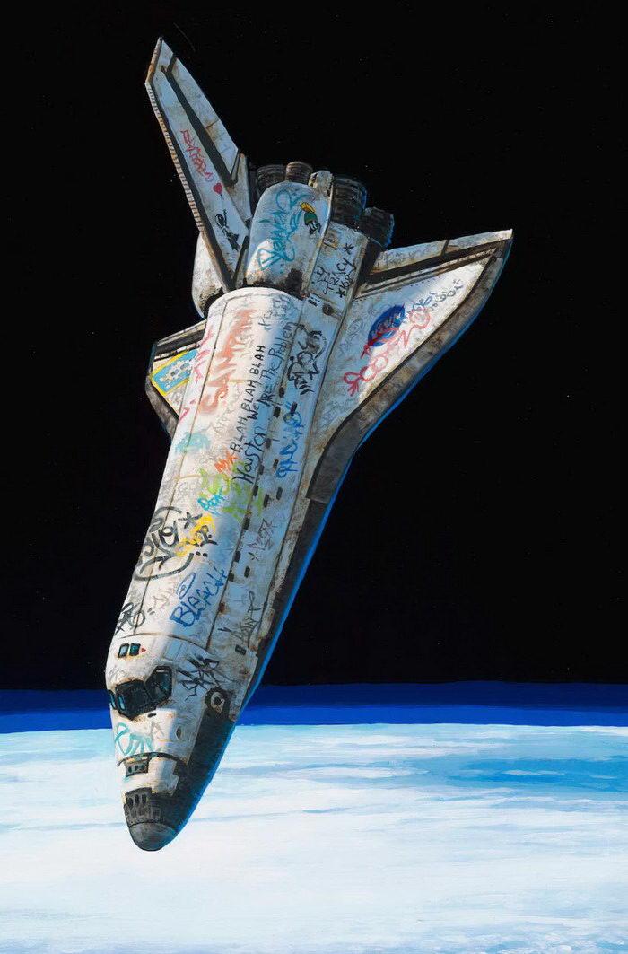 Граффити на нашей планете: проект Josh Keyes