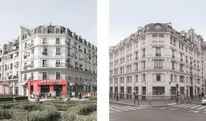 Париж и его китайский двойник Tianducheng