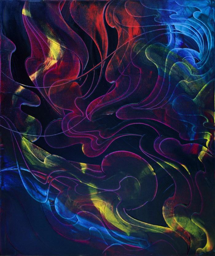 Абстрактные картины Chris Panatier