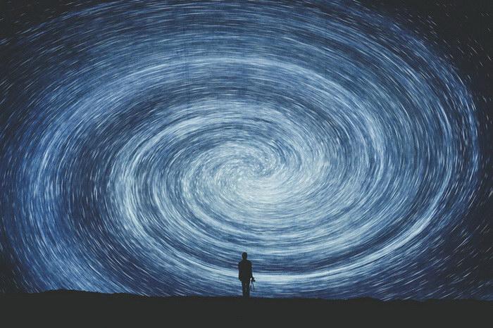 Человек и небо в работах Kent MacDonald