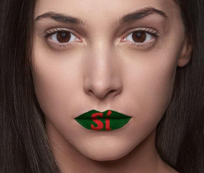 Проект против насилия над женщинами в фотографиях Kissmiklos