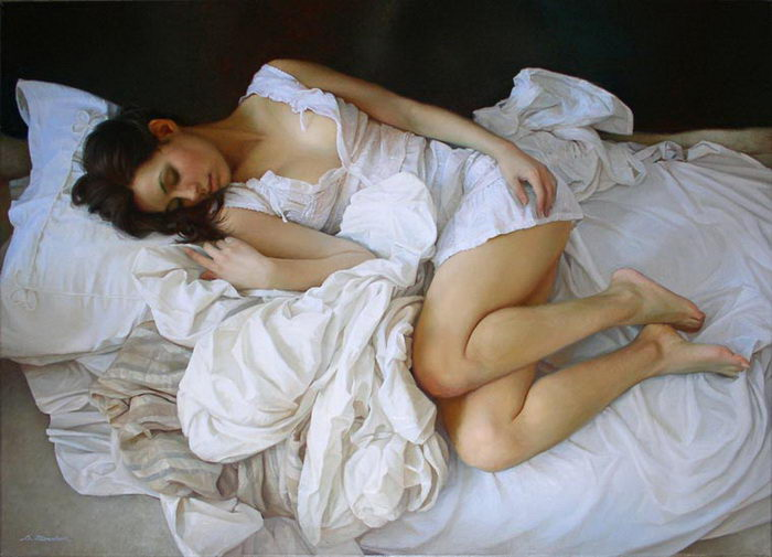Практически классическая живопись Serge Marshennikov
