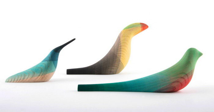 Скульптуры птиц Moisés Hernández