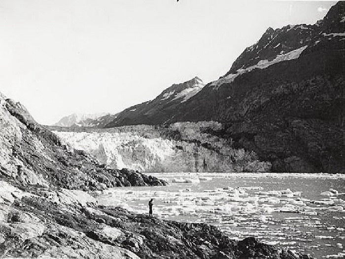Фотографии таяния ледников Аляски за последние 100 лет