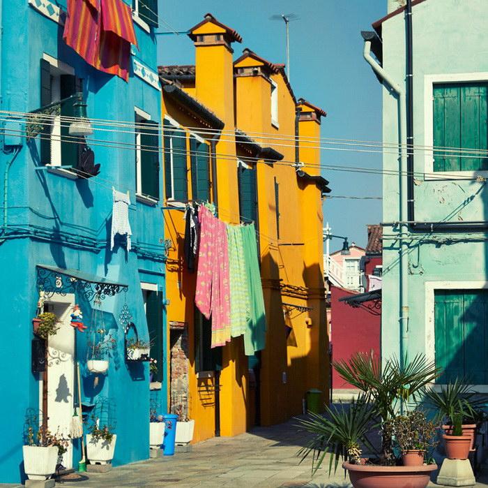 Бурано: самый яркий остров в мире
