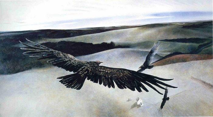 Тревожные картины Andrew Newell Wyeth