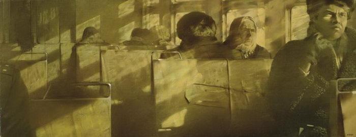 Перестройка в картинах Семена Файбисовича