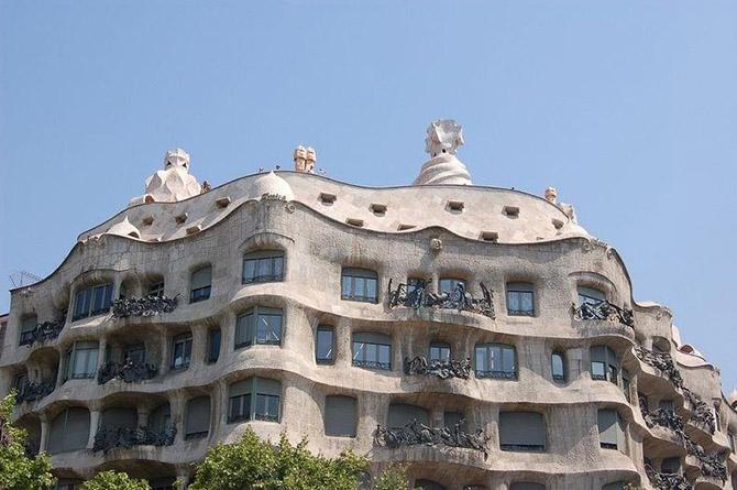 Знаменитый дом Мила