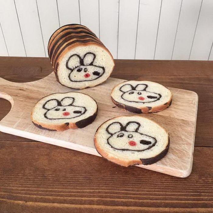 Креативный хлеб Konel Bread