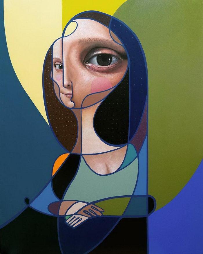 Современные портреты женщин Miguel ?ngel Belinch?n
