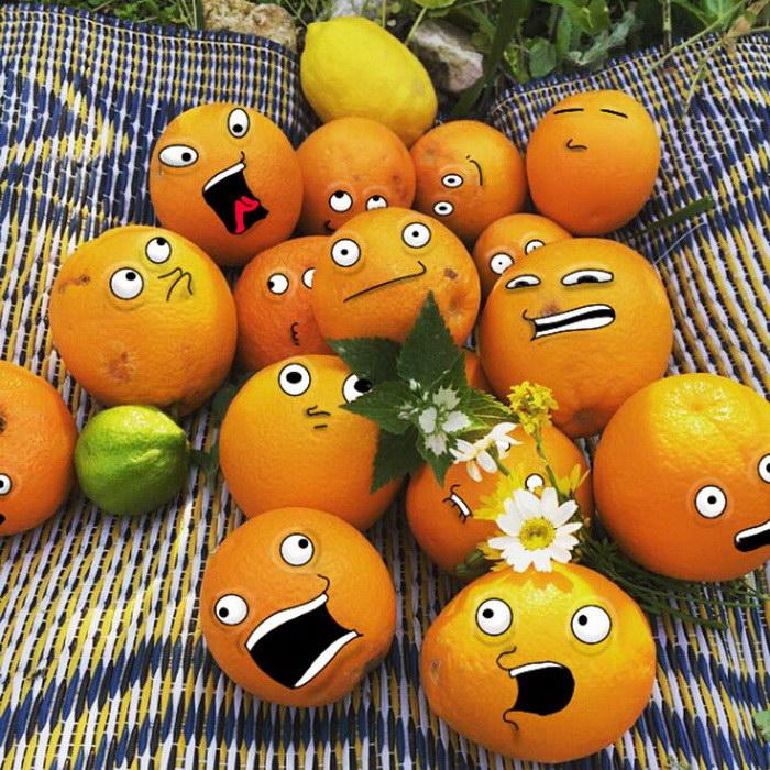 Смешные рисунки на фотографиях Suraj Sirohi