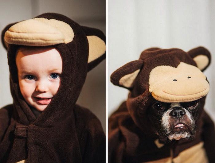 Девочка и собачка: фотопроект Jesse Holland