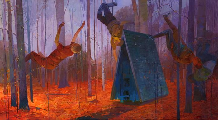 Мечтательные работы Andrew Hem