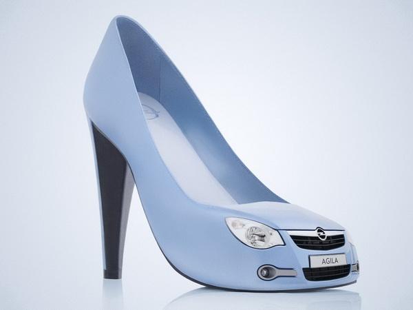 Обувь, которая шокирует
