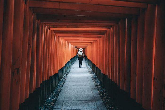 Япония в фотографиях Takashi Yasui