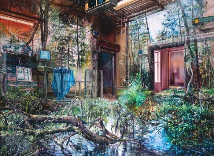 Многослойные картины Jacob Brostrup