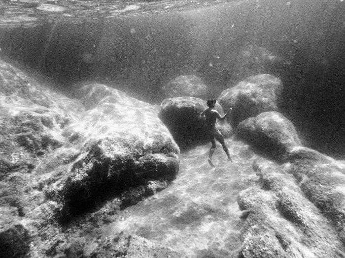Подводная эротика в снимках Kate Bellm